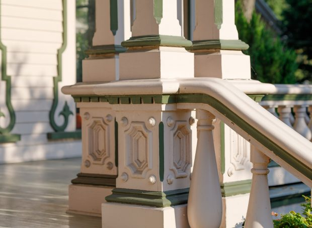 Victorian Stair Detail - Heck Andrews House